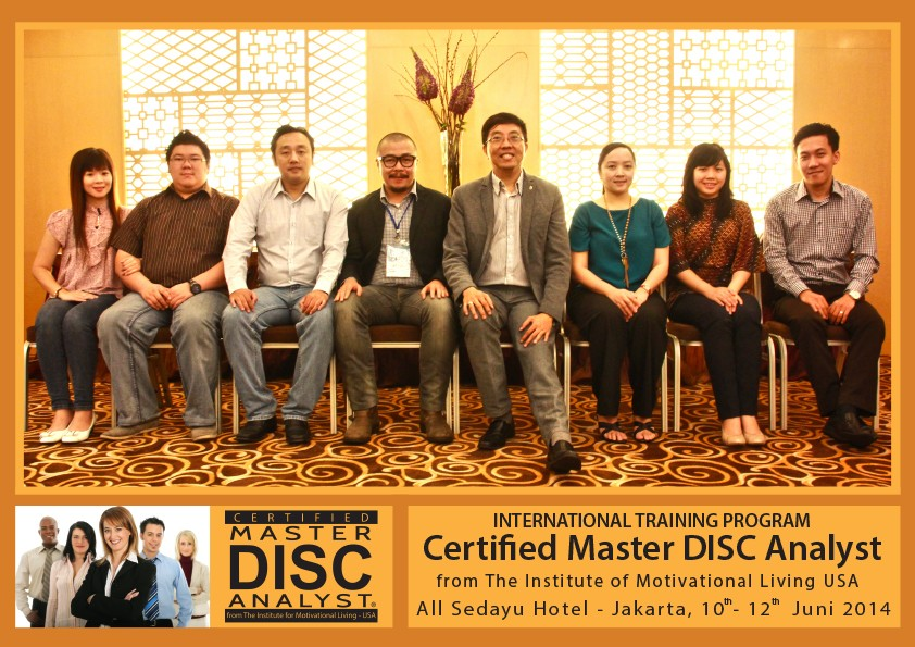 Certified Master DISC Analyst 10-12 Juni 2014 - Bambang Syumanjaya latest-update