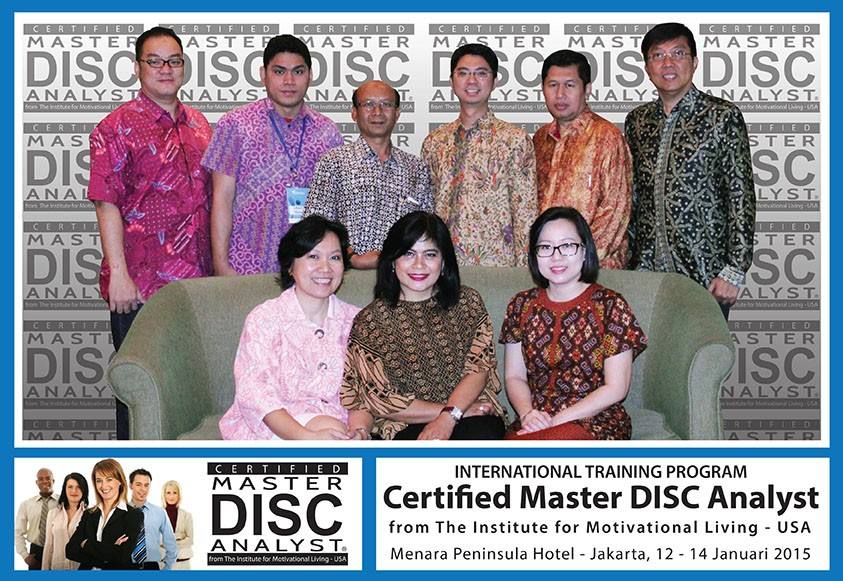 CERTIFIED MASTER DISC ANALYST 12-14 JANUARI 2015, JAKARTA - Bambang Syumanjaya latest-update