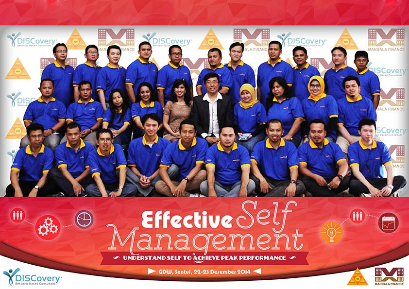 Mandala Multifinance, Effective Self Management, GDW Sentul, 22-23 Desember 2014 - Bambang Syumanjaya latest-update